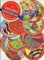 LOT De+60 étiquettes De Fromage - Cheese