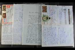 PACIFIC ISLANDS CORRESPONDENCE  1949-88 INTERESTING COLLECTION Of Letters, Covers & Aerogramme Inbound & Outbound From T - Briefmarken