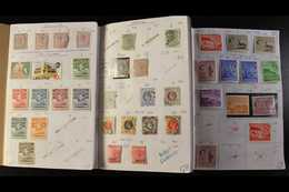 BRITISH COMMONWEALTH  BRITISH AFRICA, MALAYSIA & SINGAPORE 19th Century To 1980's Mint & Used Ranges In 36 Circulated Ap - Briefmarken
