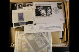 SIR WINSTON LEONARD SPENCER-CHURCHILL  A Box Packed With Envelopes And Packets Full Of Never Hinged Mint 1965 Memorial O - Briefmarken
