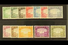 1937  Dhow Set Complete, SG 1/12, Superb Mint Og. Exceptionally Fresh And Well Centered For This Issue. (12 Stamps) For  - Aden (1854-1963)