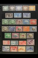 1937-52 MINT KGVI COLLECTION  Presented On Stock Pages. Includes 1937 Dhow Range To 1r & 2r, 1939-48 Pictorial Set Plus  - Aden (1854-1963)
