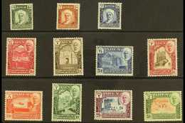 """HADHRAMAUT  1942-46 """"Shihr & Mukalla"""" Set, SG 1/11, Never Hinged Mint (11 Stamps) For More Images, Please Visit Http://w - Aden (1854-1963)"""