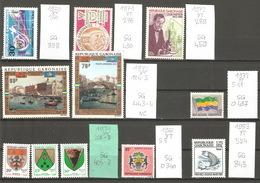 Gabon, Année 1963 à 83, Lot Divers - Gabon