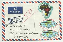 LETTRE - SIERRA LEONE - DU 27/02/1970 - Sierra Leone (1961-...)