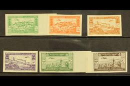 1943  2nd Anniversary Of Independence IMPERFORATE Airmail Set, Maury 82/7, Never Hinged Mint. Cat E475 = £330+ (6 Stamps - Lebanon