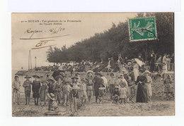 Royan. Vue Générale De La Promenade Du Square Botton. Avec Enfants, Femmes... (2704) - Royan