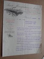 Soc. Manufacturière D'ARMES - St Etienne / 1900 > Le Comte De CARMOY ( Correspondance / Facture / Bon De Commande ) ! - France