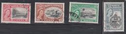 NORTH BORNEO Scott # 276-9 Used - QEII & Various Scenes - North Borneo (...-1963)