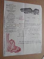 Grands Magasins Du LOUVRE Paris / 1929 ( Correspondance / Facture / Bon De Commande ) ! - France