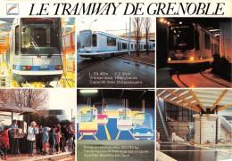 GRENOBLE Le Tramway De Grenoble Est Une Version Moderne Permettant Notament Une Accessibilite 8(scan Recto-verso) MA2059 - Grenoble
