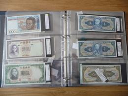 GRAND CLASSEUR HB  AVEC 100 BILLETS ETRANGERS - Coins & Banknotes