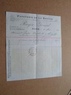 Papeterie De La Bourse ROYER - Gérard DIJON / 1910 > Georges Desplantes ( Correspondance / Facture / Bon De Commande ) ! - Imprimerie & Papeterie