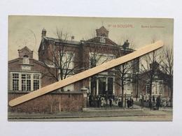 GENAPPE -BOUSVAL»ÉCOLES COMMUNALES Nº18»Panorama,couleur Animée (1911)Édit E.MIESE-WAUTIÉ. - Genappe