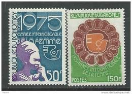 Dahomey  N° 358 / 59 XX  Année Internationale De La Femme,  La Paire Sans Charnière,  TB - Benin - Dahomey (1960-...)