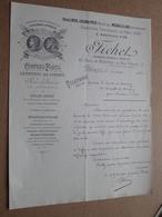 FICHET - Paris / 1901 > Comte De CARMOY ( Correspondance / Facture / Bon De Commande ) ! - France