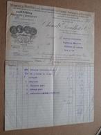 Chenal , Douilhet & Cie - Paris / 1913 > Desplantes ( Correspondance / Facture / Bon De Commande ) ! - France