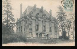 77 -- Chalifert -- Le Chateau Vu Du Parc - France