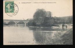 77 -- Chalifert --  L'Ecluse Et Le Pont Du Chemin De Fer - France