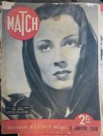 Match N° 27 5 Janvier 1939 - Journaux - Quotidiens
