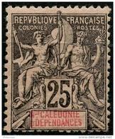 Nouvelle Caledonie (1892) N 48 * (charniere) - Unused Stamps