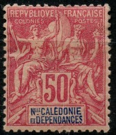 Nouvelle Caledonie (1892) N 51 * (charniere) - Unused Stamps