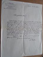 Botanische Tauschanstalt I. DÖRFLER - WIEN / 1914 > Desplantes ( Correspondance / Facture / Bon De Commande ) ! - Österreich