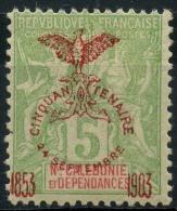 Nouvelle Caledonie (1903) N 71 * (charniere) - Unused Stamps