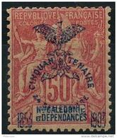 Nouvelle Caledonie (1903) N 78 * (charniere) - Unused Stamps