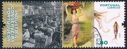 Portugal - Industrie De La Conserve : Calamar 4196 (année 2016) Oblit. - 1910-... République
