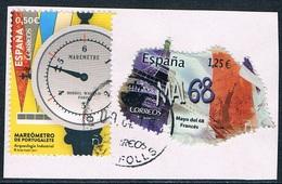 Espagne - Mai 68 En France Et Marégraphe De Portugalete 4885 + 4908 (année 2017) Oblit. - 2011-... Oblitérés