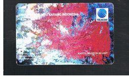 INDONESIA - TELKOM  -   CORAL SEA FAN                                     - USED - RIF.10367 - Indonesia