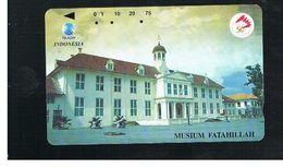 INDONESIA - TELKOM  -  FATAHILLAH MUSEUM                  - USED - RIF. 10369 - Indonesia