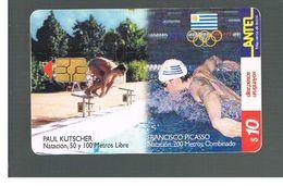 URUGUAY -   1999 OLYMPIC SPORT: SWIMMING        - USED  -  RIF. 10462 - Uruguay