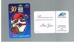 ESTONIA -  EESTI TELEFON  -   1997 CHRISTMAS    - USED - RIF.10549 - Estonia