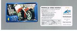 ESTONIA -  EESTI TELEFON  -   1997  MOTO   - USED - RIF.10552 - Estonia