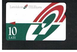 LETTONIA (LATVIA) -        1996 LOGO 10                            -  USED - RIF. 10578 - Latvia