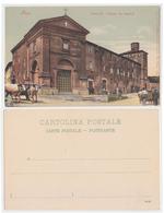 Siena - 2 Cartoline Di Palazzo Dei Diavoli_fotocromia - Siena