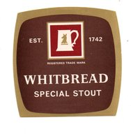 UNUSED BEER LABEL - WHITBREAD BREWERY (LONDON, ENGLAND) - SPECIAL STOUT - Beer
