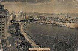 CPA RIO DE JANEIRO- BEIRA MAR AVENUE, PANORAMA, CAR, BUSS - Rio De Janeiro