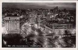 CPA SAO PAULO- PANORAMA BY NIGHT - São Paulo