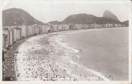 CPA RIO DE JANEIRO- COPACABANA BEACH PANORAMA - Rio De Janeiro