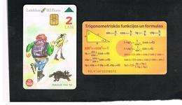 LETTONIA (LATVIA) -        1998 SCHOOL       -  USED - RIF. 10597 - Latvia