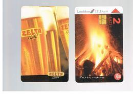 LETTONIA (LATVIA) -        2000 BIER ZELTA GOLD, GOLDEN NIGHT     -  USED - RIF. 10599 - Latvia