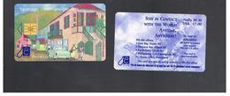 ST MAARTEN (ST. MARTIN)   -   2001 TALKING ON THE STREET                               - USED   RIF. 10782 - Antilles (Netherlands)