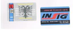 ALBANIA - 1996  EAGLE, INSIG 100     - USED -  RIF. 10795 - Albania