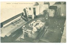 1912, Vietnam, Saigon, 11th Colonial- Le Travail Des Punis De Prison, Pc Cochin-Chine - Vietnam