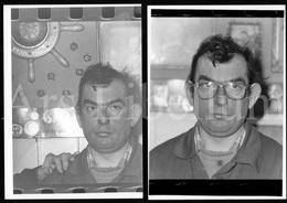 3 Large Photos / Homme / Man / Unknown / Photo Size: 12.70 X 17.80 / Belgium / Belgique / België - Personnes Anonymes
