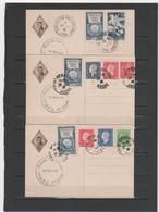 FRANCE 1946 ANNIVERSAIRE DE LA MORT DU Gal BROSSET - Cartes-Maximum