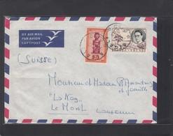 LETTRE DE KIGALI POUR LA SUISSE. - Ruanda-Urundi